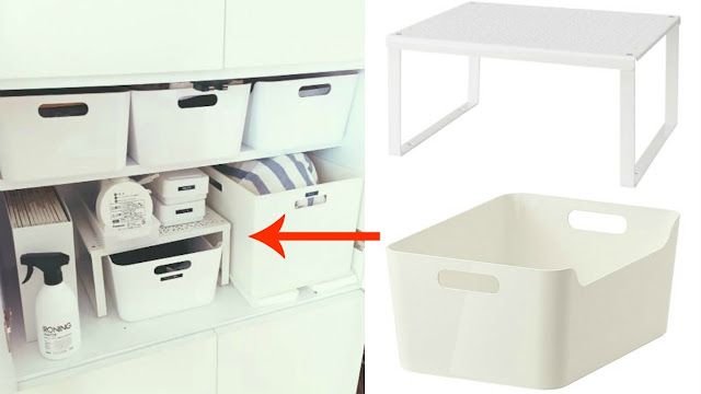 Best Ikea Ideas |  Variera Box Ikea | Organizing Tips & Storage