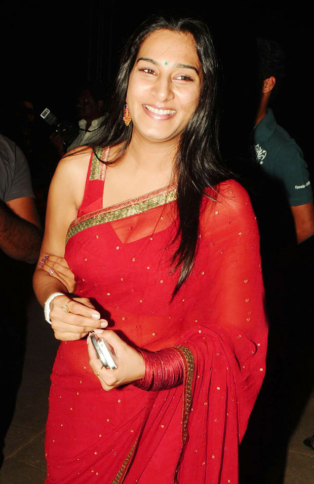 goreous and enticing Surekha vani in red