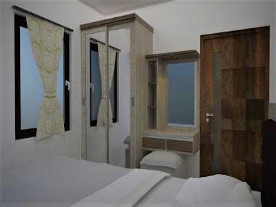 paket-interior-2-bedroom-the-springlake-summarecon-bekasi