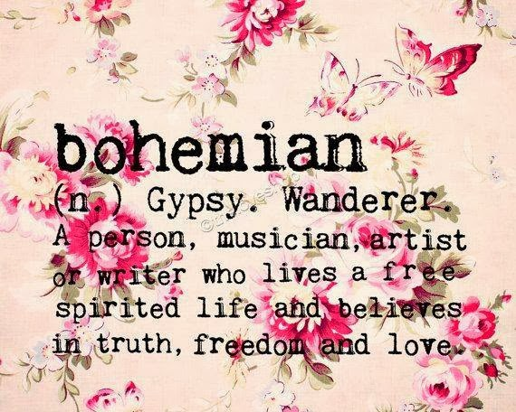 Bohemian Artist at Work and Play!