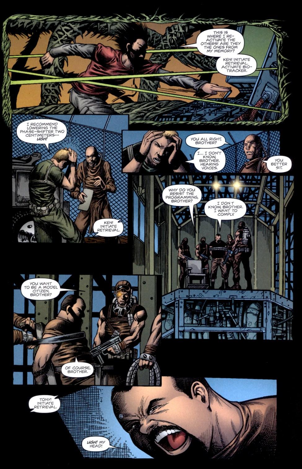 Read online Static-X: Machine comic -  Issue # Full - 9