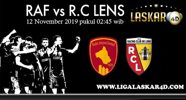 Prediksi Pertandingan Bola Rodez vs Lens 12 November 2019