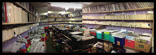 Europa Music's Back room Sterling Scotland. Photo Credit: Ocean Eiler
