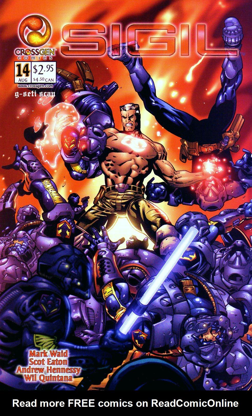 Read online Sigil (2000) comic -  Issue #14 - 1
