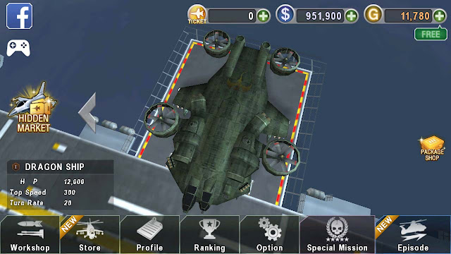 mod apk gunship battle helicopter 3d terbaru