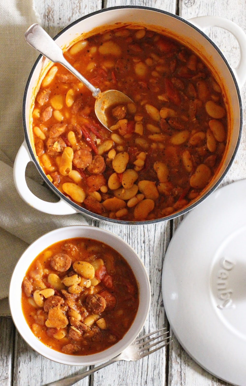 Indy Power's Chorizo Bean Stew Recipe To Try