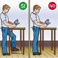 C mo levantar pesos correctamente cuerpo sin dolor - Caja laboral oficinas ...