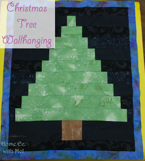 Christmas Tree Wallhanging project
