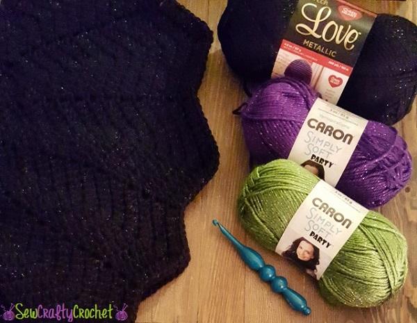 Witchipoo Halloween Poncho Sew Crafty Crochet