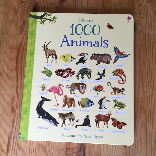 1000 Animals by Usborne Books