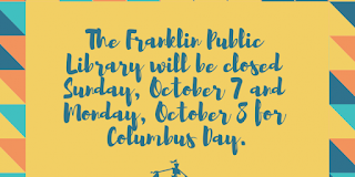 Town Offices Closed Monday / Public Library Closed Sunday-Monday