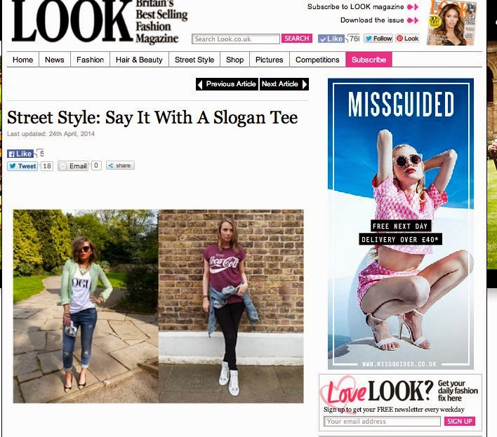 STREET STYLE IN LOOK MAGAZINE