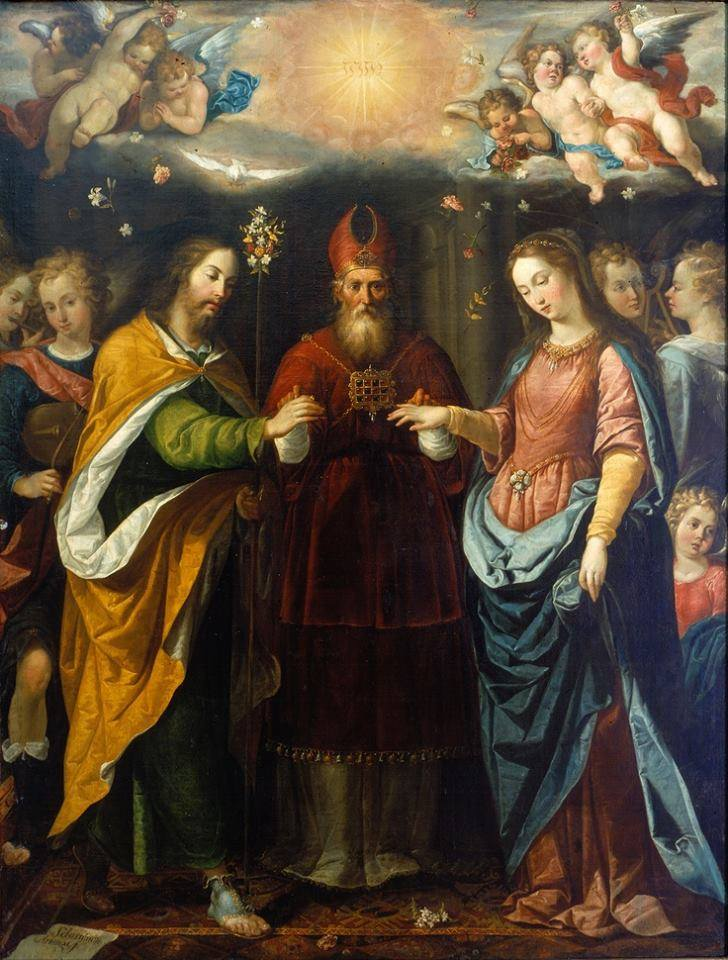 A Catholic Life Betrothal Of The Virgin Mary With St Joseph Mass