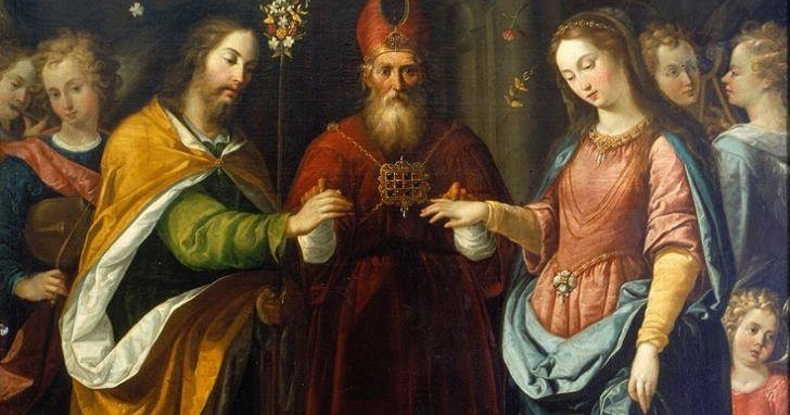 A Catholic Life Betrothal of the Virgin Mary with St Joseph
