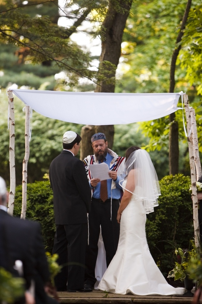 Moe Of The Ginn Life Reception Rembered Chuppah