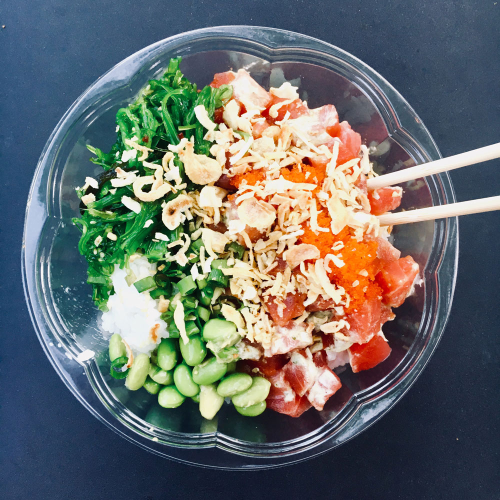 Oklahoma City's new Poke Restaurant, Okie Pokie, is in the Uptown 23rd District