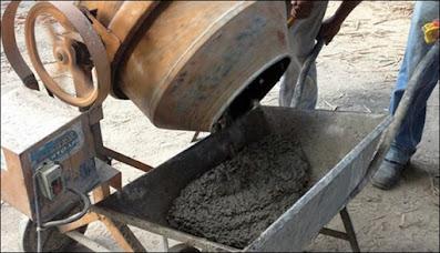 concreto betoneira