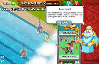Ilha dos Jogos Dragon City - Passos da Aventura!