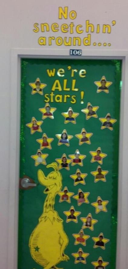 Teachery Tidbits: Dr. Seuss Doors {Part 2}