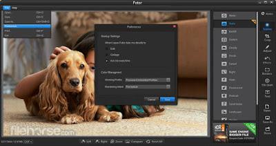 برنامج Fotor