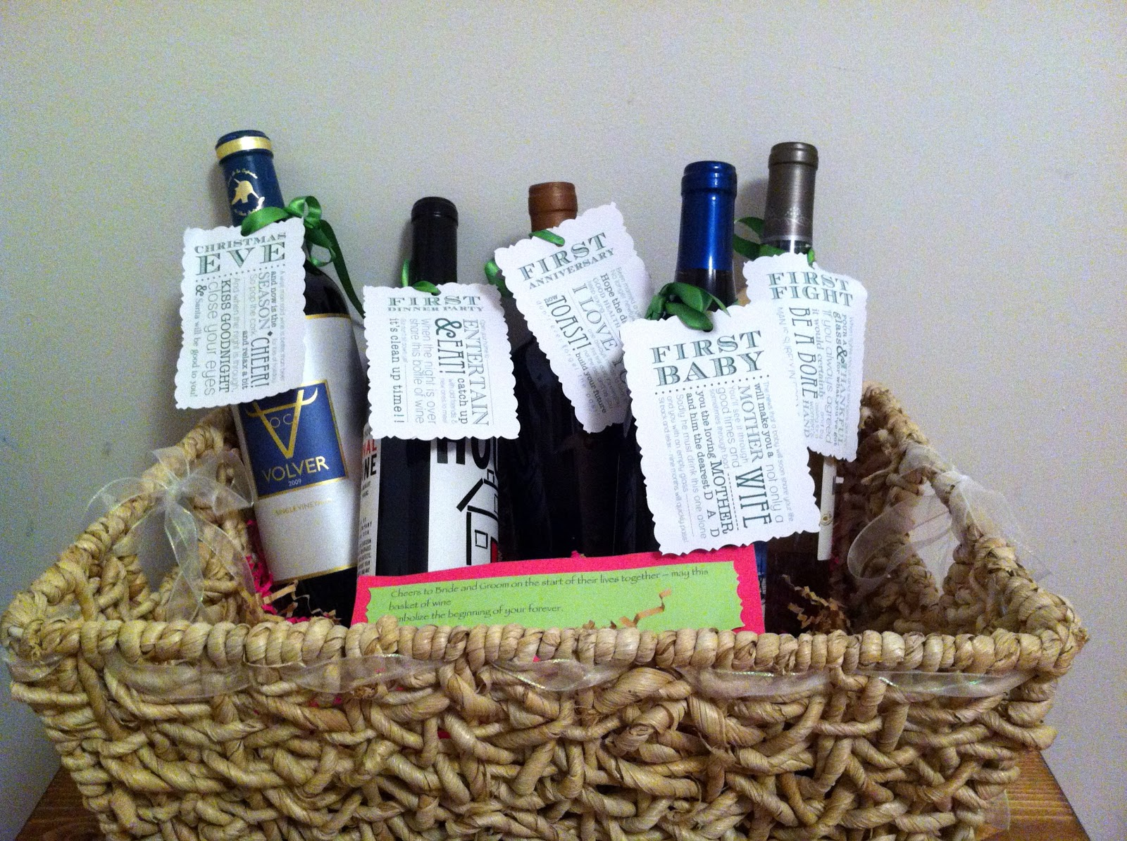 Wine Gifts For Wedding: Keep It Simple And Fun: Personalized Wedding Gifts