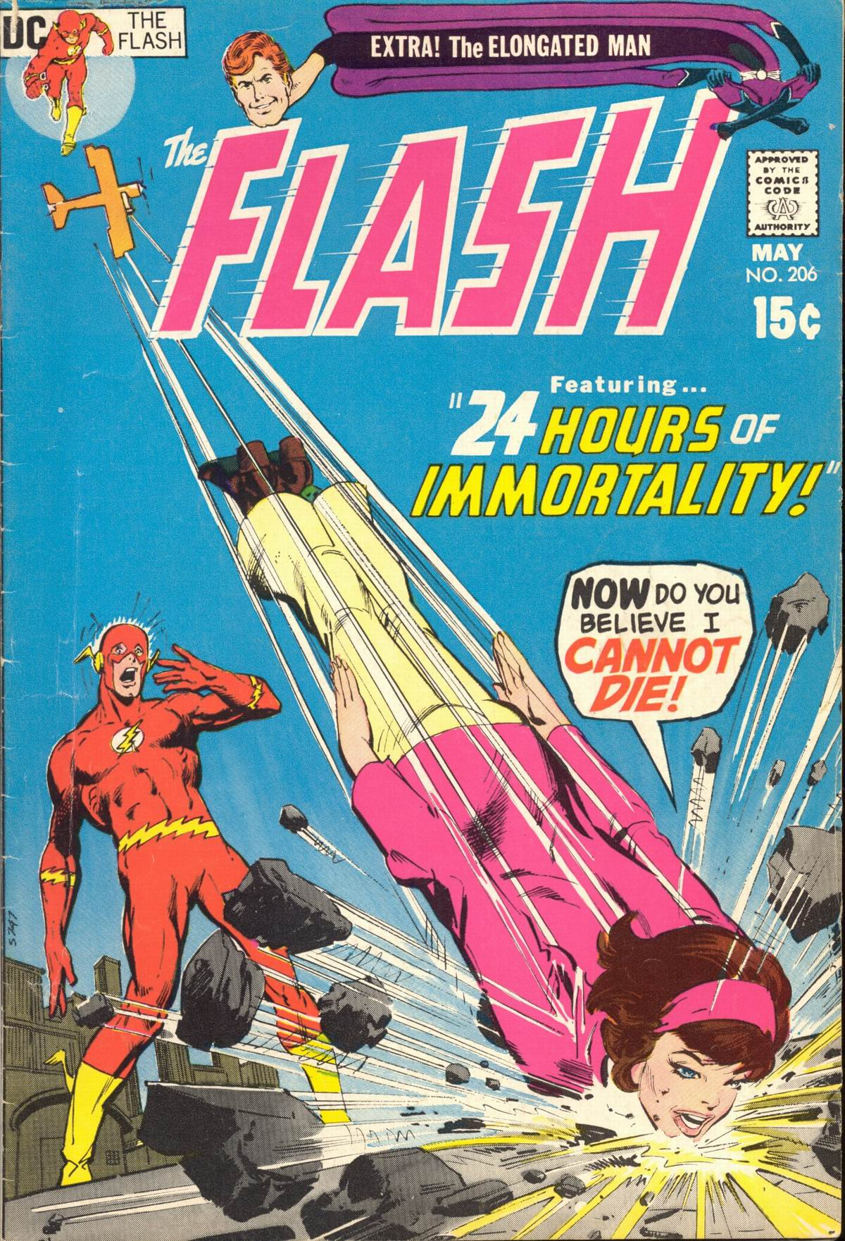 The Flash (1959) issue 206 - Page 1