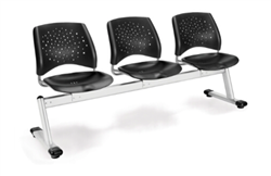 polypropylene beam seating that is easy to clean