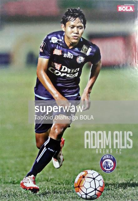 Adam Alis Arema FC