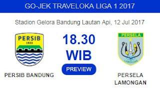 Prediksi Persib Bandung vs Persela Lamongan Rabu 12 Juli 2017