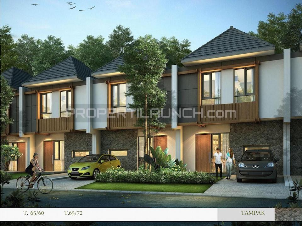 Rumah Cluster Kireina BSD City Tipe 65
