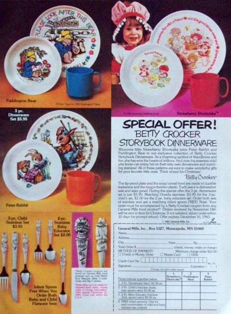 Oneida Storybook Dinnerware Ad 1983