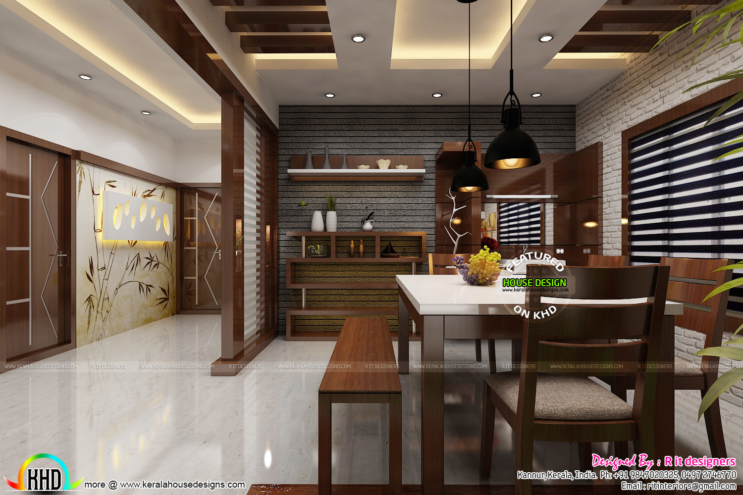 Dining, Kitchen And Foyer Interiors