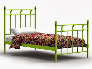 cama de forja, cama dormitorio infantil