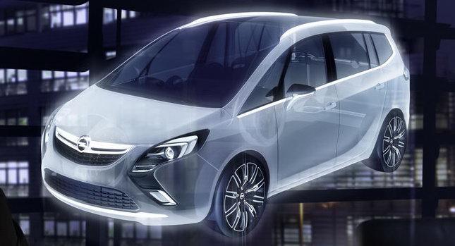 car design scoop scoop et dernieres infos automobile scoop nouvelle opel zafira 3 2011. Black Bedroom Furniture Sets. Home Design Ideas