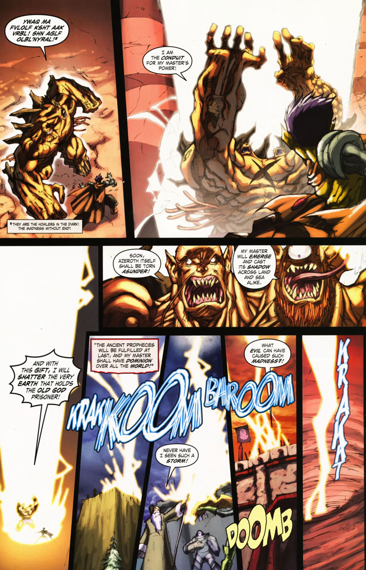 Read online World of Warcraft comic -  Issue #25 - 19