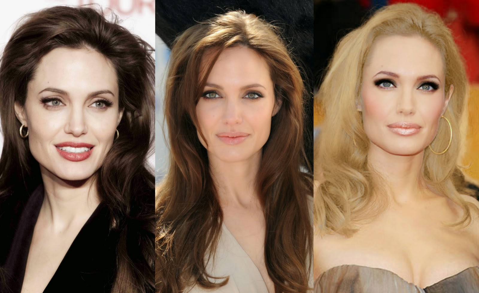 Angelina Jolie Hair Styles: TREND ALERT: HAIR COLOR, THE SAFER WAY!