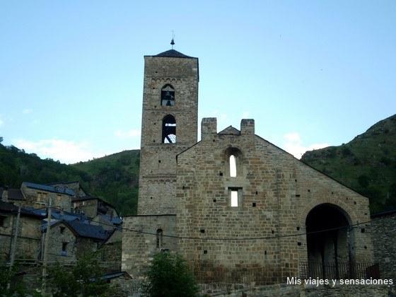 Iglesia de la Natividad de Durro, Valle de Boí (Lérida)