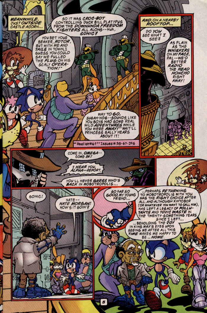 Read online Sonic The Hedgehog comic -  Issue #69 - 5