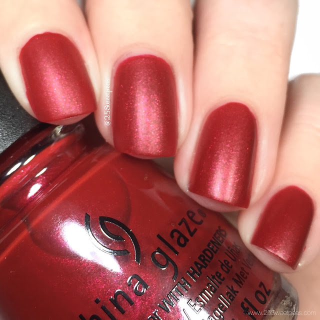 China Glaze Santas Side Chick