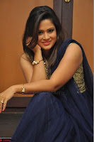 Shilpa Chakravarthy anchor and actress in anarkali dress  Exclusive 005.JPG