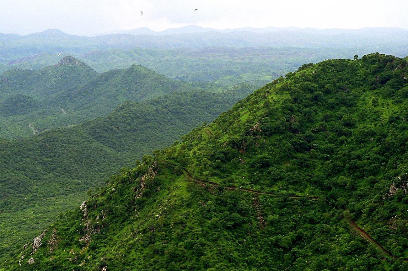 राजस्थान मध्यवर्ती पहाड़ी प्रदेश