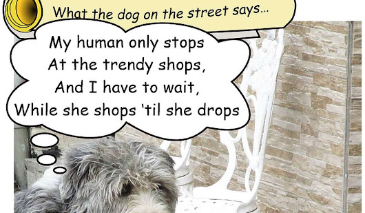 How about this? Doggerel from a dog!