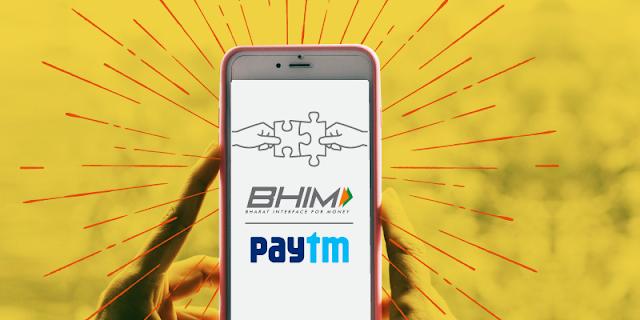 Paytm BHIM-UPI