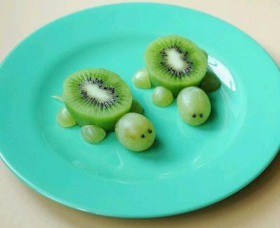 Jemy oczami, czyli jak zachęcić dziecko do jedzenia owoców i warzyw.