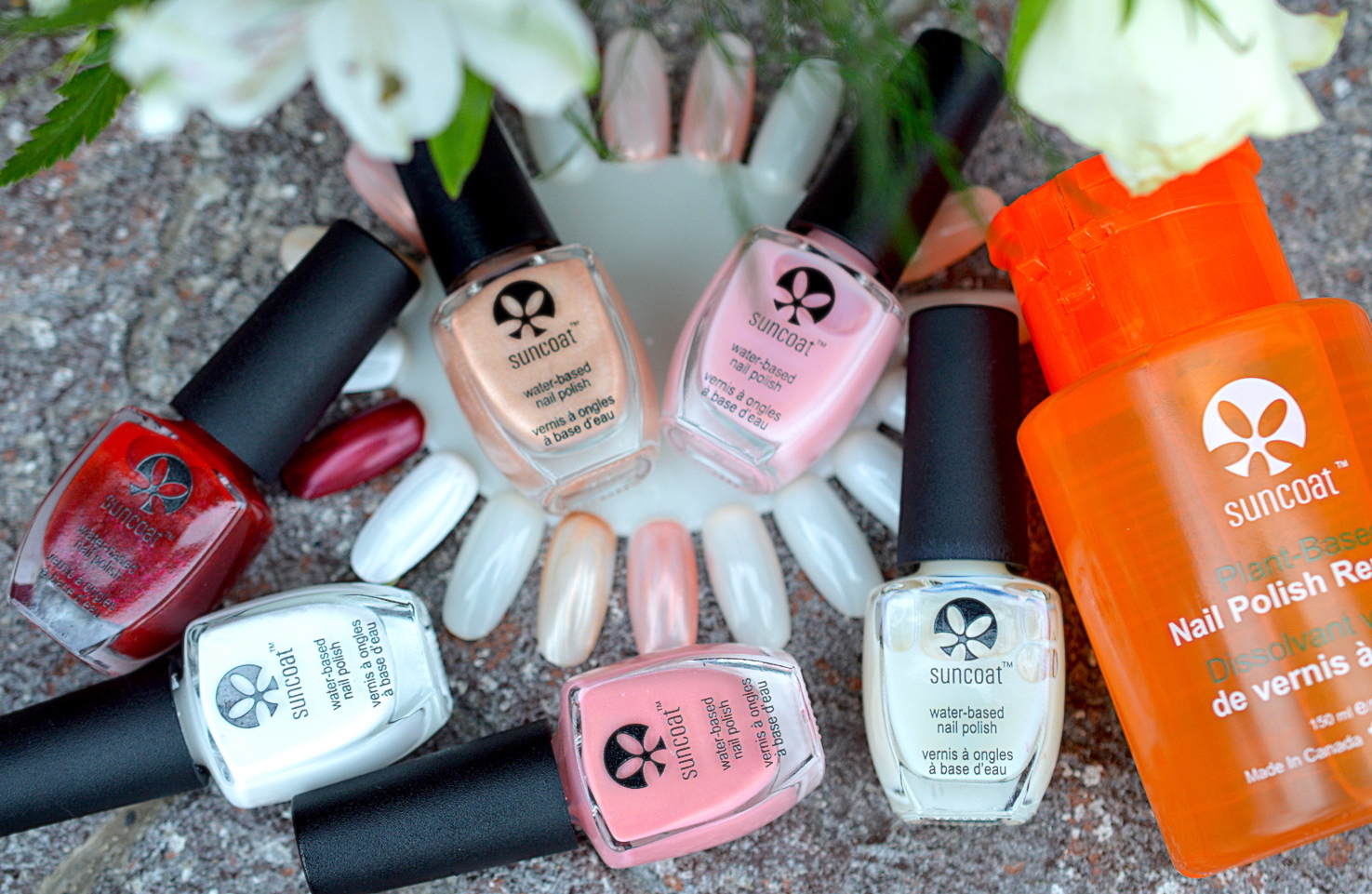 SUNCOAT Water-Based Nail Polish Review