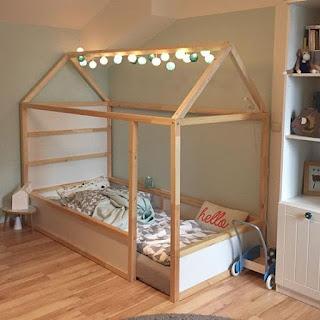 Ideas para decorar con una litera Kura de Ikea