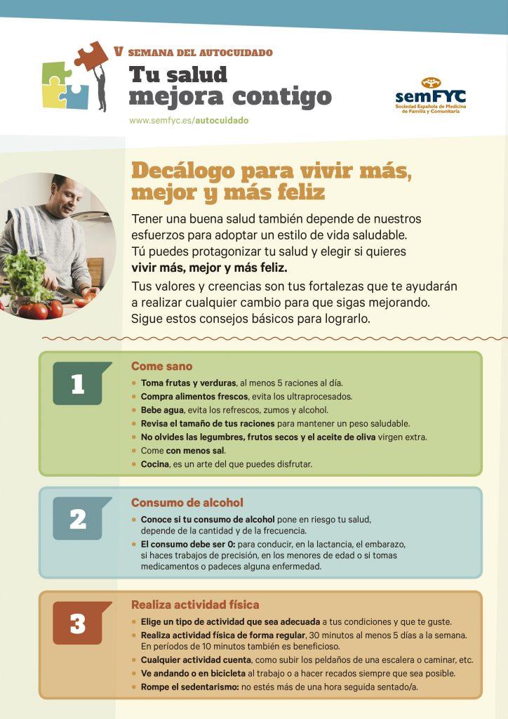 5 consejos para tener un estilo de vida saludable