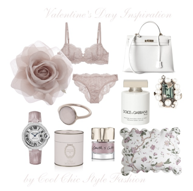 Valentine's Day Inspiration by Cool Chic Style Fashion