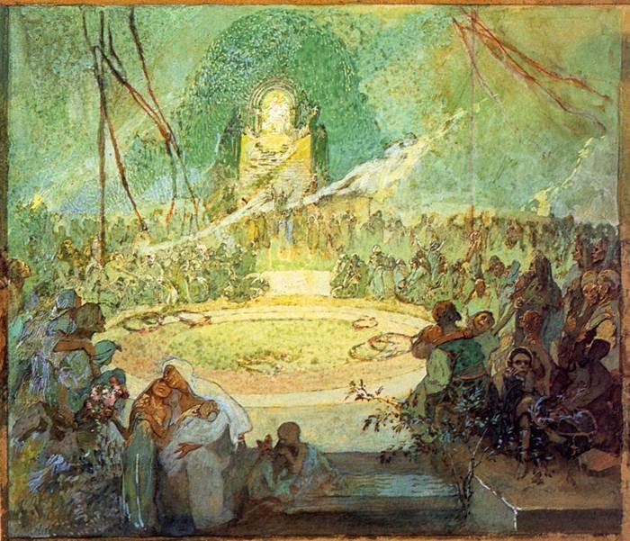 Anos de Amor - Alphonse Mucha e suas principais pinturas ~ (Art Nouveau) Tcheco