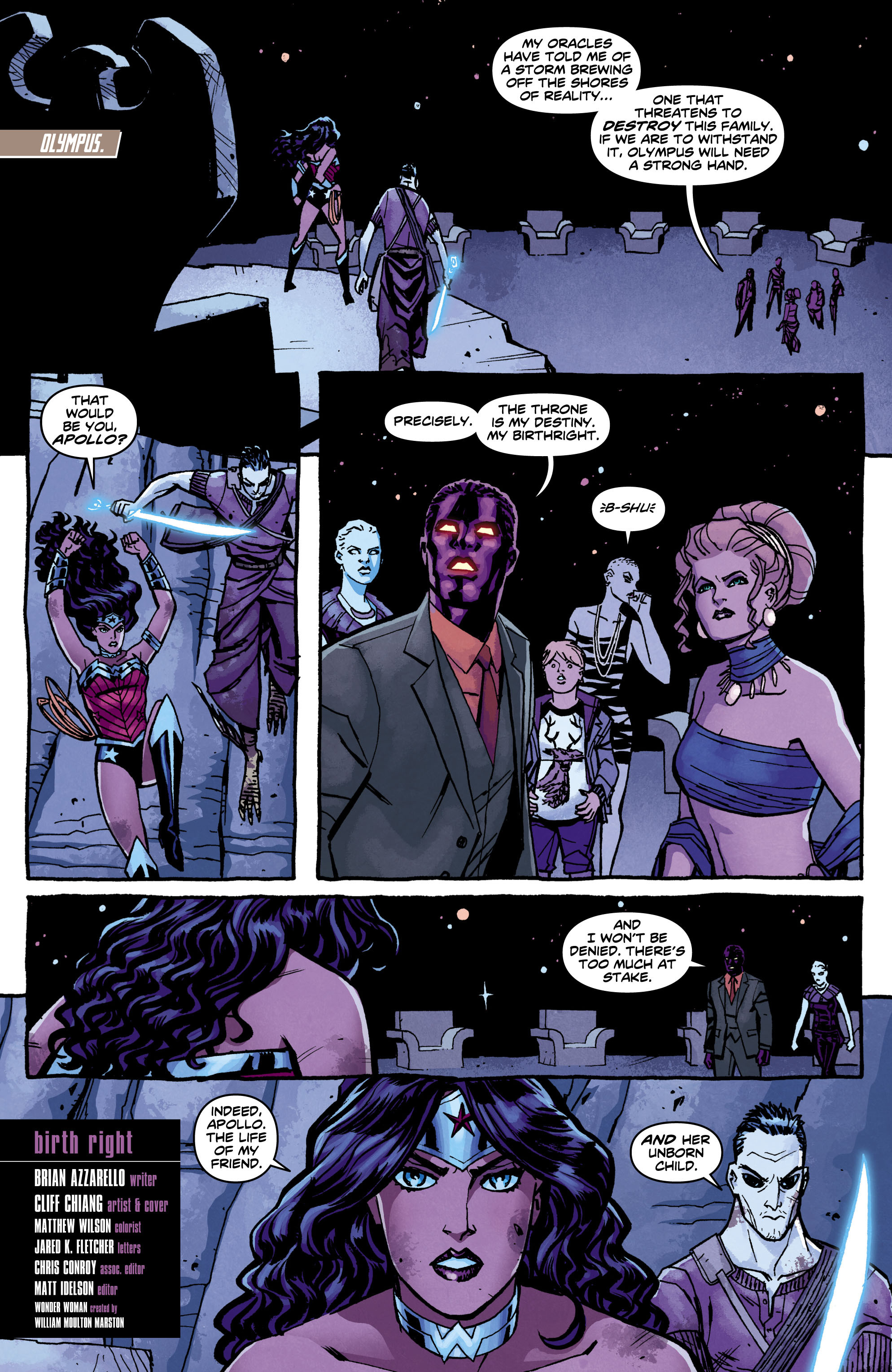Read online Wonder Woman (2011) comic -  Issue #12 - 2